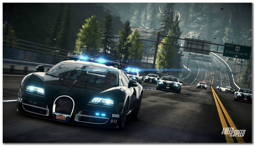 Need For Speed Rivals Bugatti Cop Car Wallpapers HD Wallpapers 1920x1080