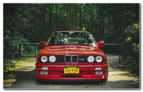 New BMW Red HD wallpaper