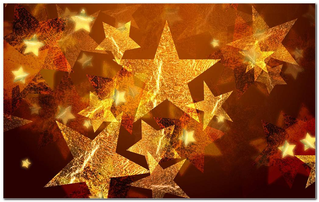 New Year Blessing Brown Abstract Wallpapers
