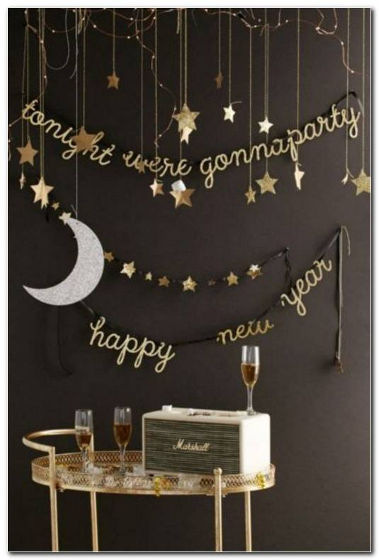 New Year Decoration Ideas