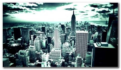New York Blue HD Wallpaper