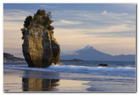 New Zealand Mount Taranaki Wallpaper