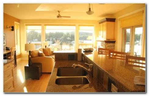 New modern idealistic kitchen HD wallpaper