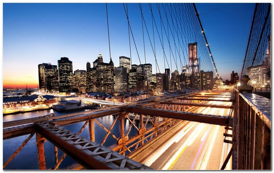 Newyork Sunset Wallpaper Hd