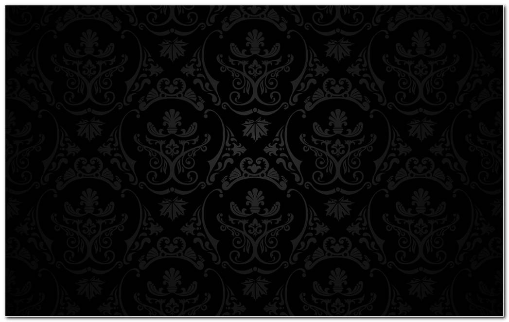 Nice Black Pattern Background Wallpaper