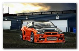 Nissan Skyline HD Wallpaper