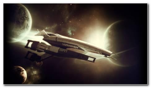 Normandy Mass Effect 3 HD wallpaper