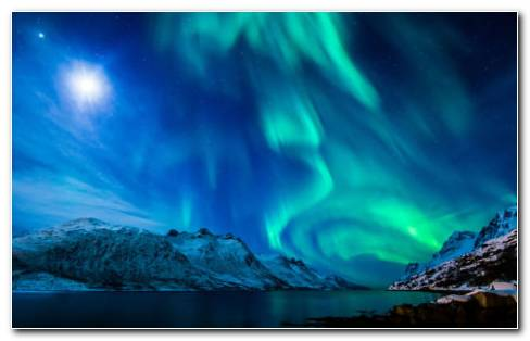 Northern Lights Aurora HD Wallpaper