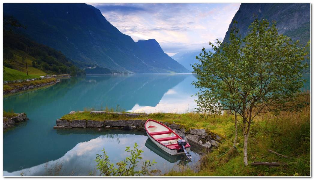 Norwegian Nature Image Wallpapers Background