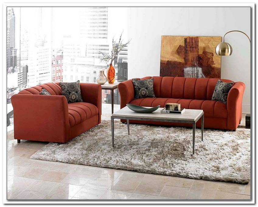 O F Sofa With Matching Loveseat