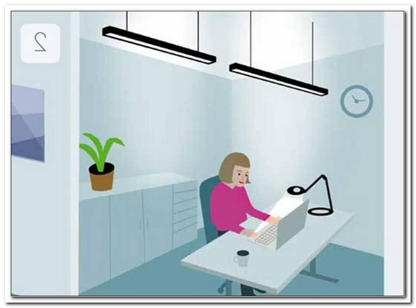 Optimale Beleuchtung Arbeitsplatz