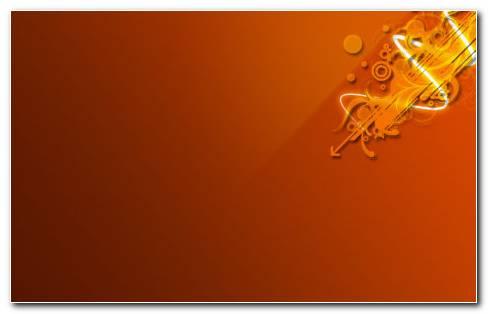 Orange Arts HD Wallpaper