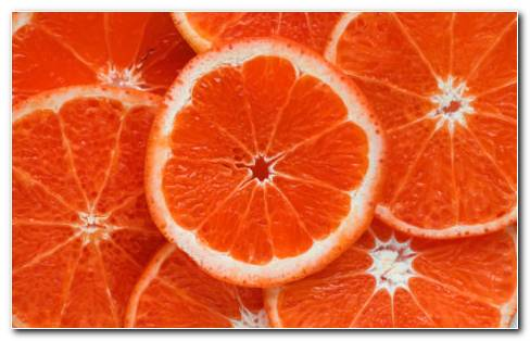 Orange Ripe Citrus HD Wallpaper