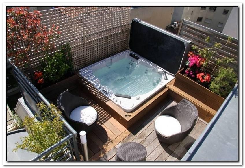 Outdoor Whirlpool F?R Terrasse