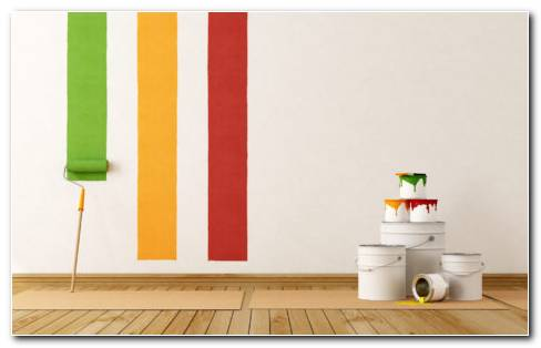 Paint Interior HD Wallpaper