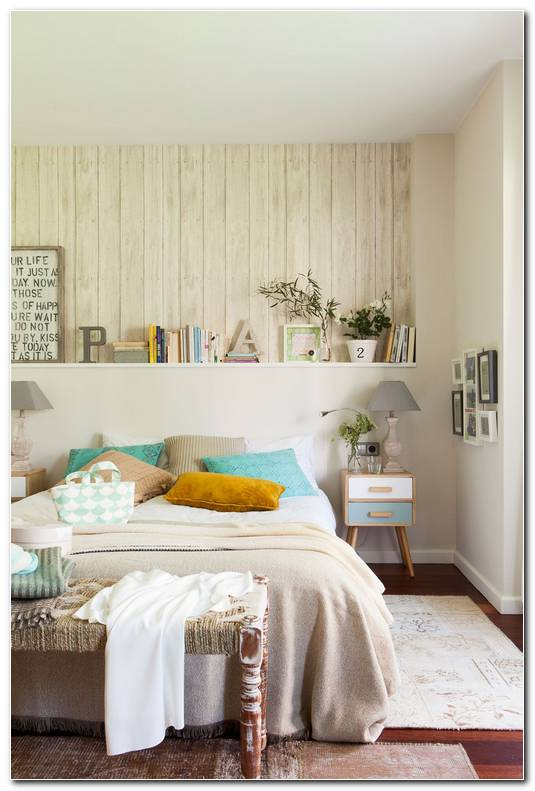 Papel Pintado Cabecero Dormitorio