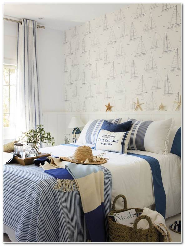 Papel Pintado Dormitorio Blanco
