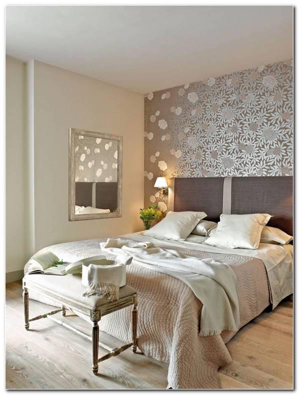 Papel Pintado Dormitorio Cabecero
