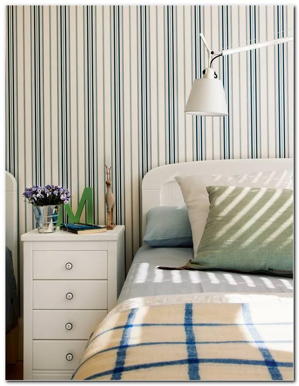 Papel Pintado Rayas Dormitorio