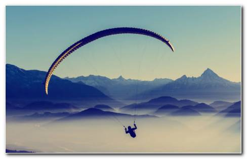 Paragliding HD Wallpaper