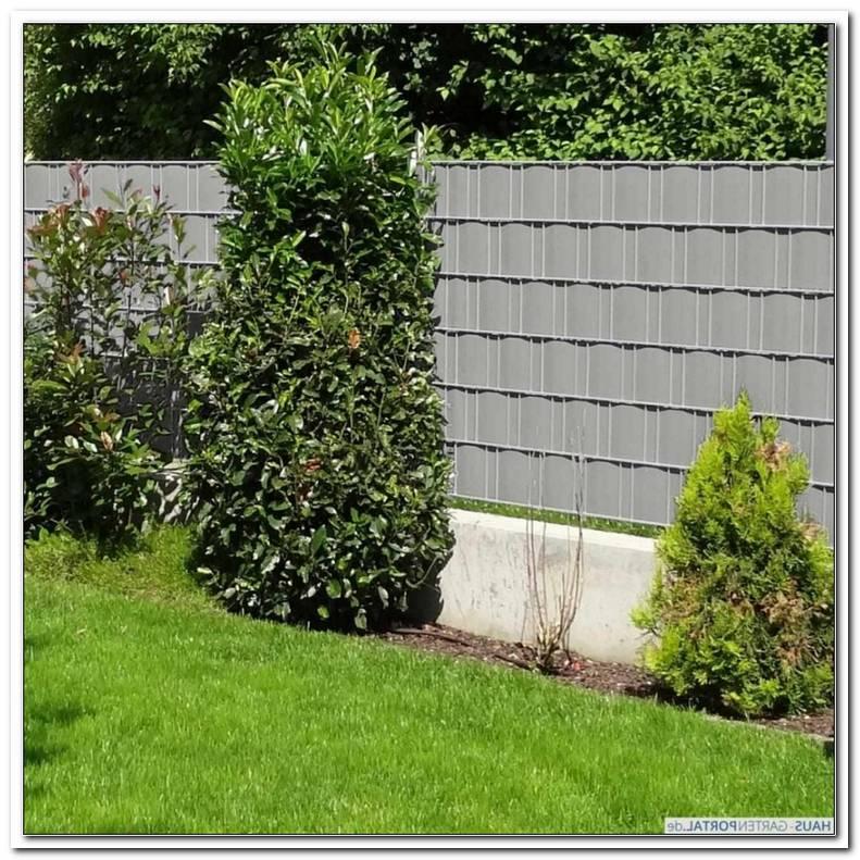 Paravent Garten Grau
