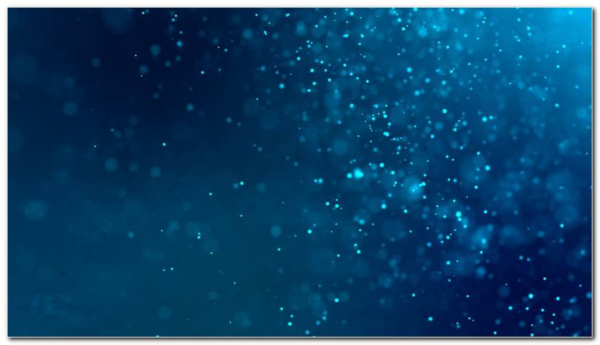 Particle Blue Background Wallpaper