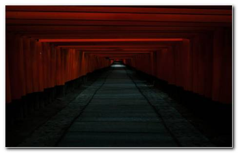 Passage Dark Tunnel HD Wallpaper