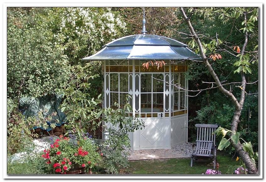 Pavillon Aus Metall FR Den Garten