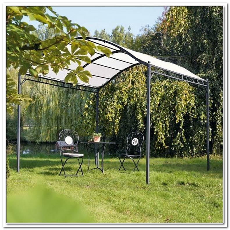 Pavillon F?R Den Garten Mit Eisengestell