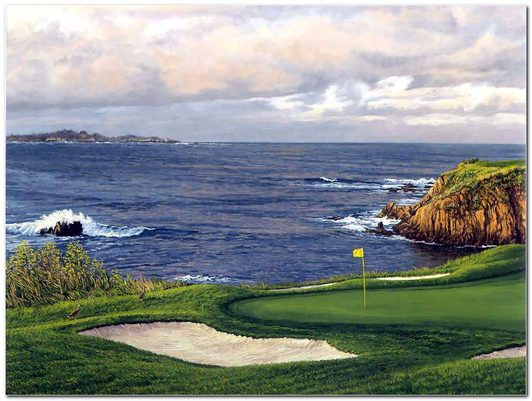 Pebble Beach Backgrounds