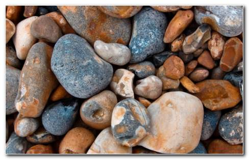 Pebbles On Surface HD Wallpaper