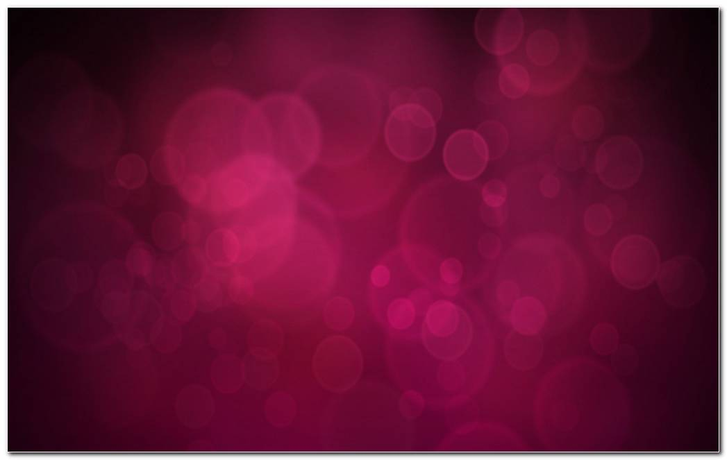 Pink Bubbles Background Wallpaper