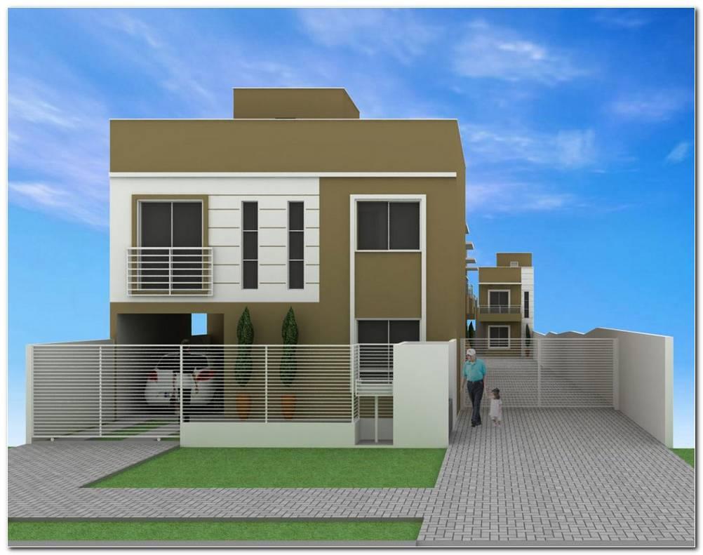 Pintar Casa Exterior Verde