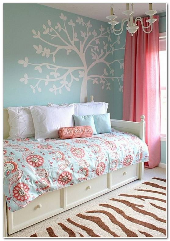 Pintar Dormitorio Juvenil Chica