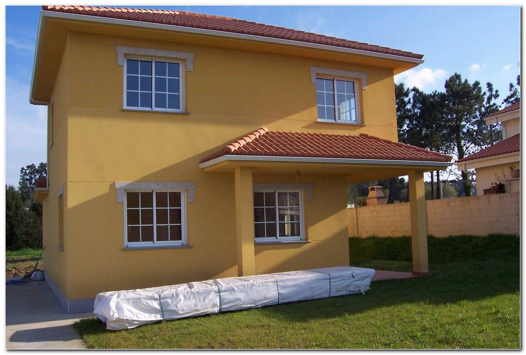 Pintura Exterior Casa Colores