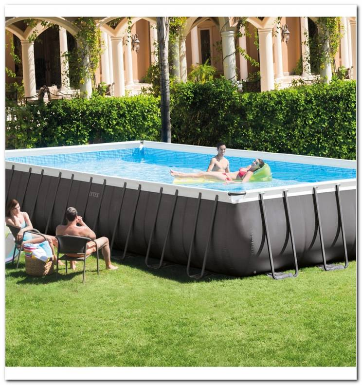 Piscina Rectangular Desmontable