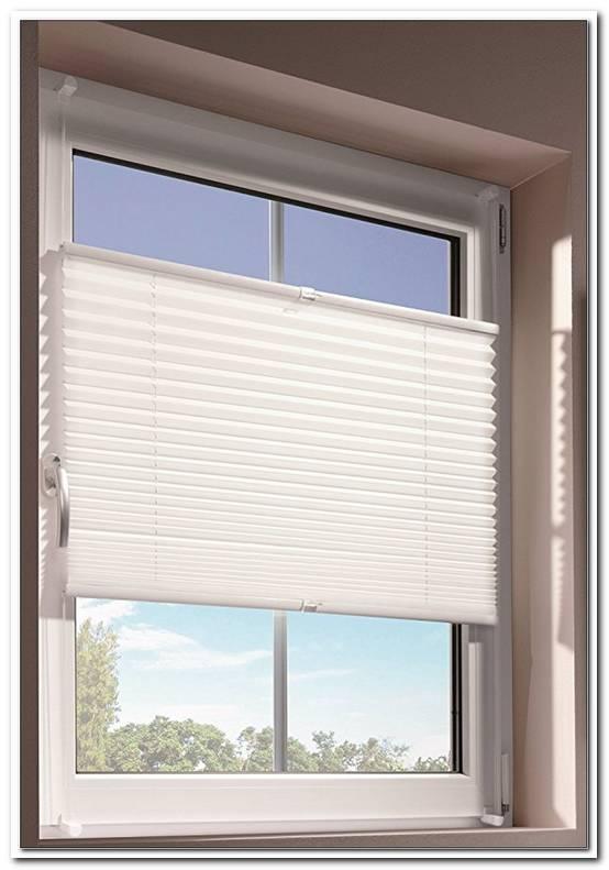 Plissee Fensterrahmen Innen