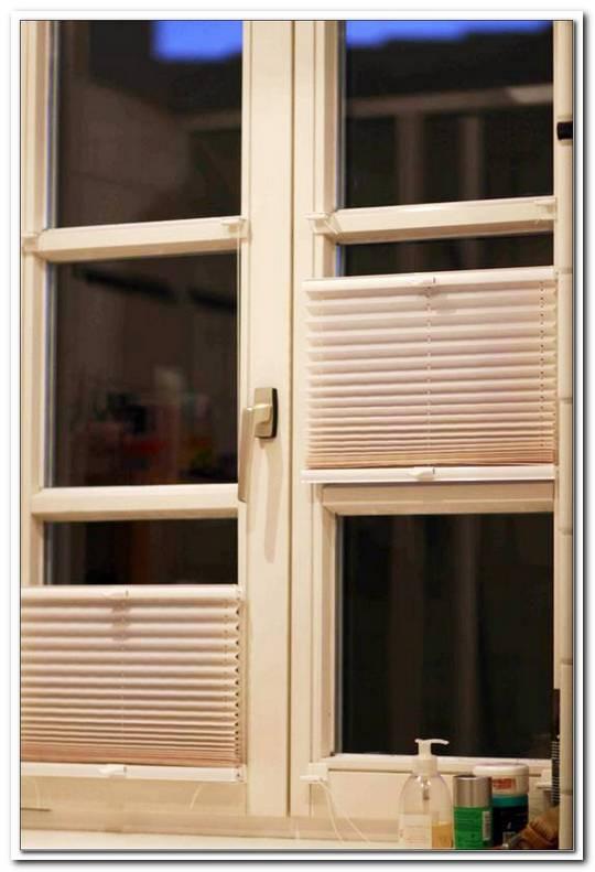 Plissee Geteilte Fenster