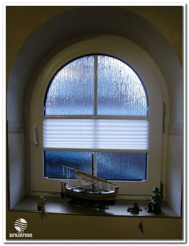Plissee Rollos F?R Rundbogenfenster