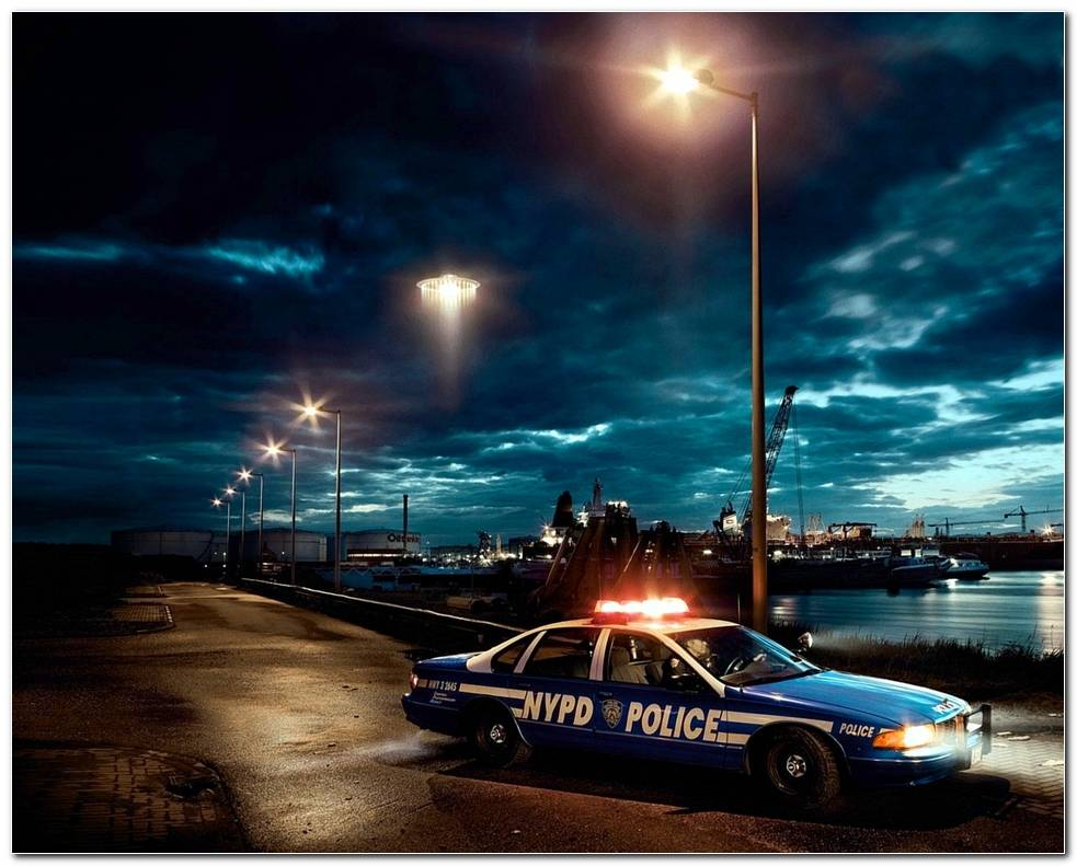 Police Car Wallpaper Police Car At Night 1280x1024