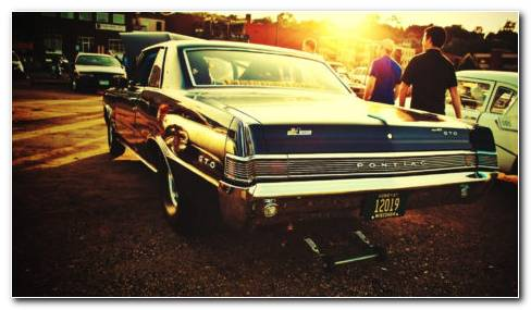 Pontiac GTO HD Wallpaper