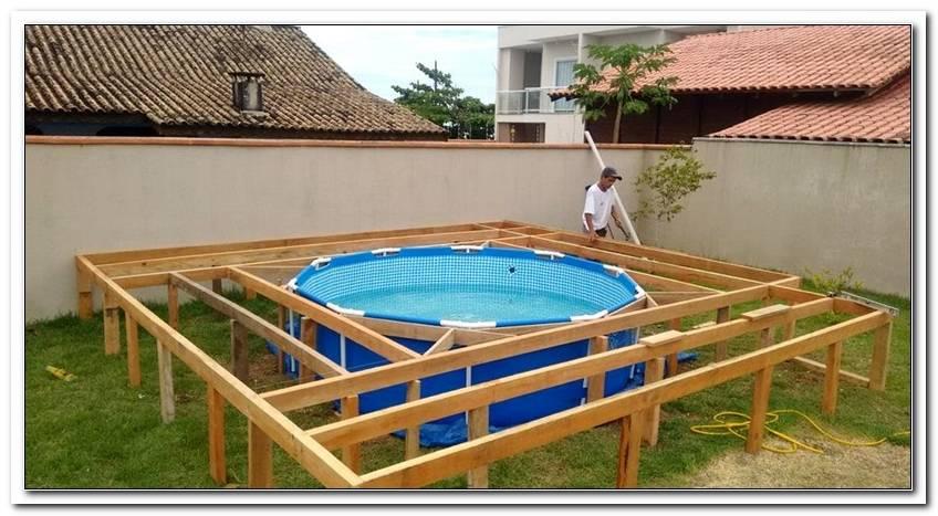 Pool Terrasse Selber Bauen