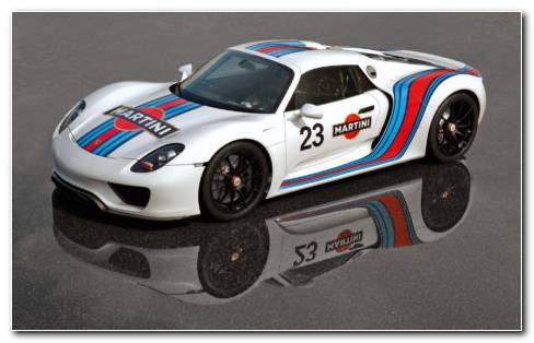 Porsche 918 Martini HD Wallpaper