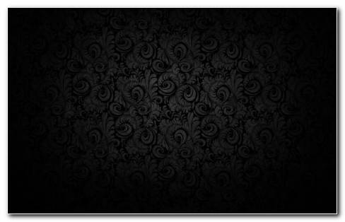 Pretty Black Patterns HD Wallpaper