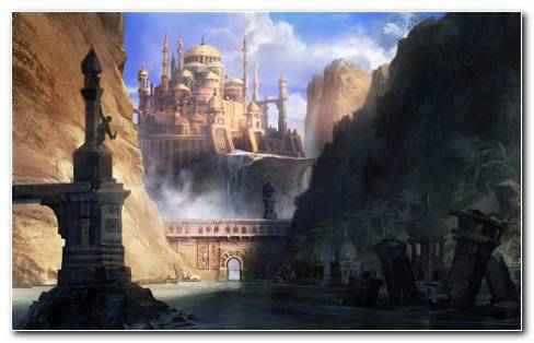 Prince Of Persia The Forgotten Sands HD Wallpaper