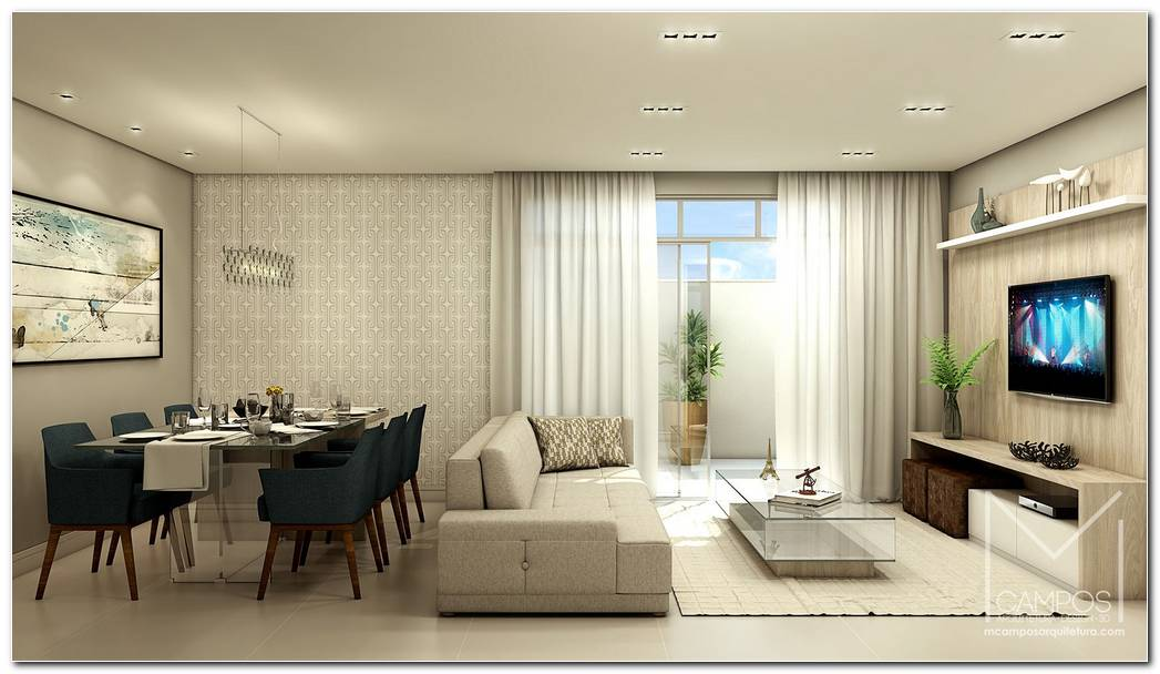 Projeto Interior Sala De Estar