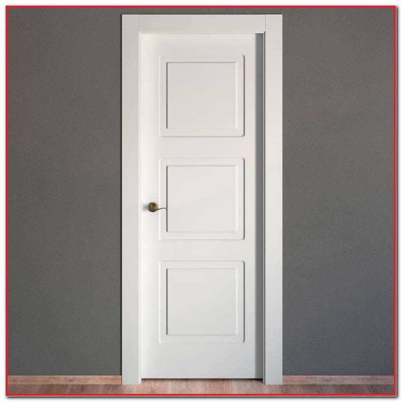 Puertas Macizas Blancas