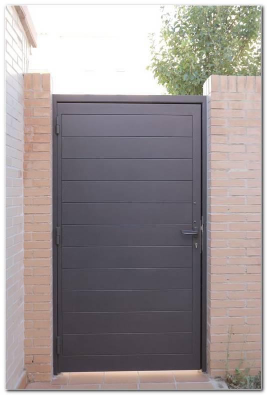 Puertas Metalicas Exterior Jardin