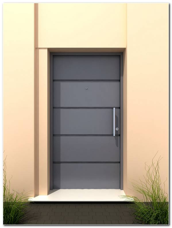 Puertas Metalicas Exterior