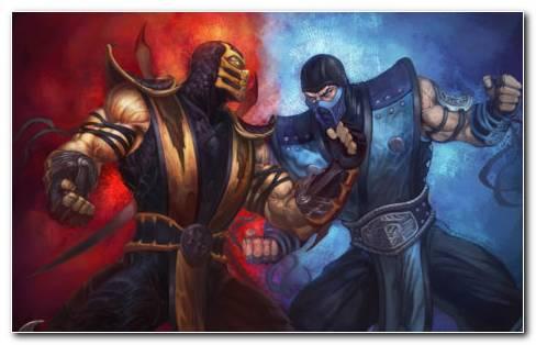 Punch Ice Fire HD wallpaper